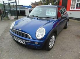 2003 Mini Hatchback 1.6 One 3dr 12 month Mot, finance warranty part exchange ...