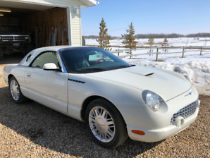 2002 Ford Thunderbird Convertible with hardtop