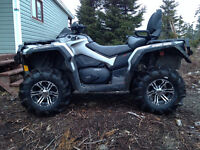 FOR SALE 2014 Can Am 650 Max XT