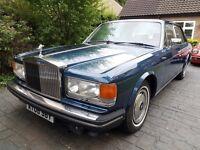 1988 Rolls Royce Silver Spirit top spec wedding investment opportunity