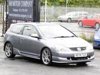 Honda Civic Type R, Grey, 2004, 91 000 Miles, 6 Months AA Warranty