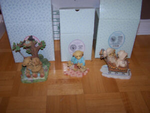 6 CHERISHED TEDDIES - new in boxes