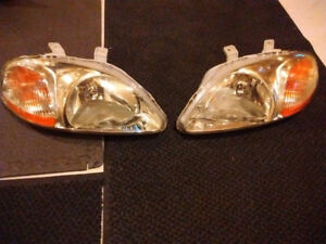 Phares pour Honda Civic '96-'00 / Headlights for EK EJ EM Civic