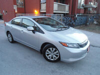 2012 HONDA CIVIC LX , LOADED , CLEAN CAR , HANDSFREE BLUETOOTH ! City of Toronto Toronto (GTA) Preview