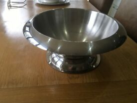 Stainless steel mixing or fruit bowl