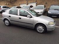 Vauxhall Astra, 2002/51, 2 owner car,79000 miles, long mot, £695