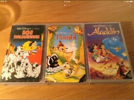 Disney VHS 'Black Diamond' Collection