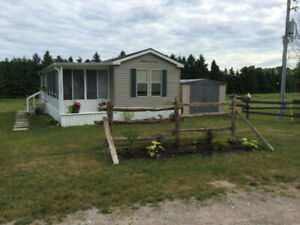 3 Bdrm Trailer in Family Park near Beautiful Ipperwash Beach
