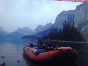 Metzeler like zodiac hypalon inflatable 15foot boat