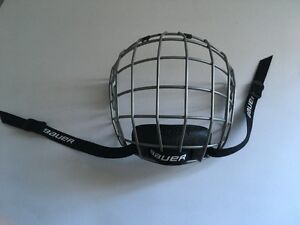 Small Brand New Bauer Hockey Face Mask for SALe