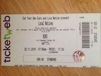Local Natives tickets X2 | London Koko | 2nd November 2016