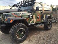 2006 custom Jeep