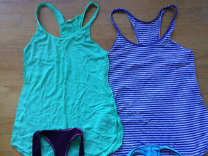 Lululemon tank tops, NEW condition, size 4! 4 tops = $60!! Strathcona County Edmonton Area image 2
