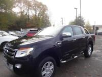 FORD RANGER LIMITED 4X4 DCB TDCI 2015 Diesel Automatic in Black