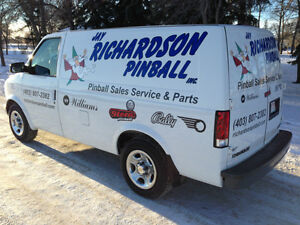 PINBALL REPAIR & SALES / Jay Richardson Pinball Inc.