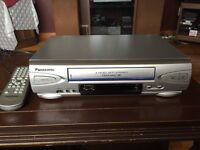 Panasonic VCR (with Remote)