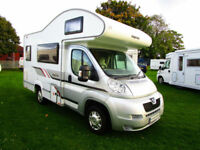Elddis Majestic 100 four berth motorhome with over cab bed