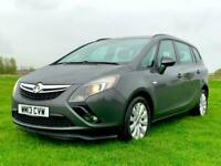 13 Vauxhall Zafira Tourer 2.0CDTi 16v 165ps Exclusiv Lovely car with FSH