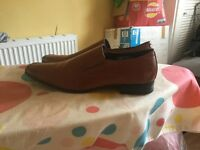 Size 13 brown shoes