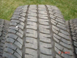 2017 Michelin LTX tires LT275/65R/20 A/T-2 (M+S) , load range E