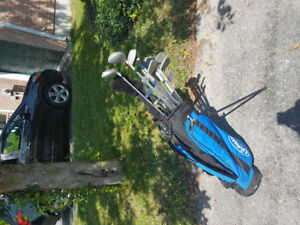 Full set-right handed kids golf clubs