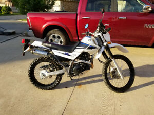 Yamaha XT225 only 1540 miles! Street legal