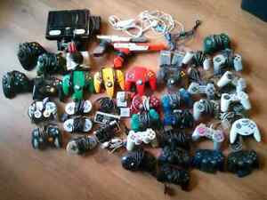 Various controllers and accessories for sale