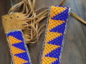 Vintage Native beaded Belt