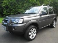 05/55 LAND ROVER FREELANDER 2.0 TD FREESTYLE IN MET GREY WITH ONLY 93,000 MILES