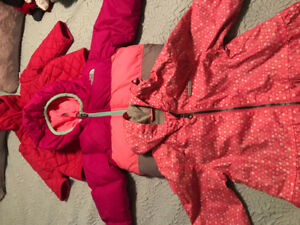 GIRLS 12 MONTHS JACKETS FALL, WINTER AND  SPRING