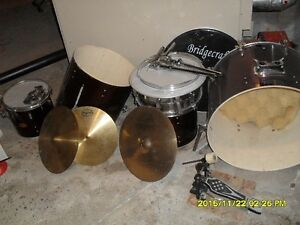 NEW PRICE drums for parts