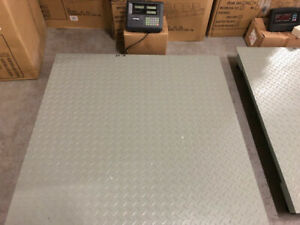 pallet scale, floor scale, 40 x 40, 48 x 48, 60 x 60, bench scal