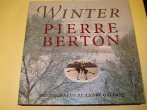"Pierre Berton  ""Winter"" Hardcover Signed Copy"