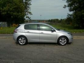 "PEUGEOT 308 1.6 HDI ACTIVE 5 DOOR 2014 ""64"" REG 139,000 MILES F.S.H. £0 ROAD TAX"