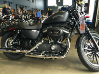 2014 Iron 883 black denim