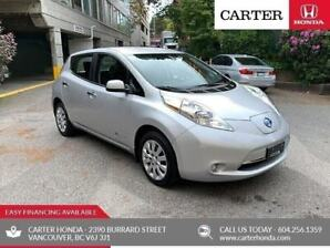 2016 Nissan Leaf S + SUMMER SALE  + NO ACCIDENTS + QUICK CHARGE!