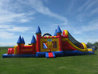 Bouncy Castles + Obstacle Courses Sale Birthday Parties + Events