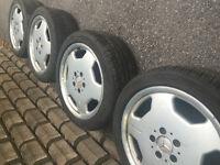 Jantes Mercedes AMG Monoblock 17 pouces