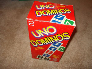 UNO Dominos -1995---complete London Ontario image 1