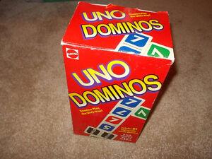 UNO Dominos -1995---complete London Ontario image 1