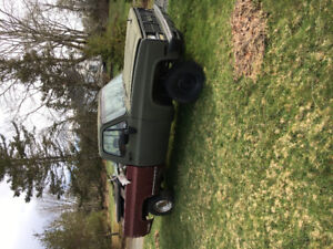 1987 3/4 ton 4x4 cash or trade for boat or something interesting