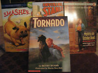 4 NEW EARLY CHAPTER BOOKS