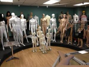 Mannequins and bust forms