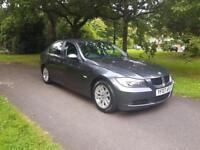 2007 BMW 318d SE 2.0 DIESEL6 SPEED 1 FORMER KEEPER FSH, LONG MOT, CRUISE,CLIMATE £3195