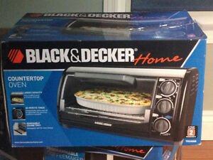 Countertop Oven Black & Decker 1200-Watt 4-Slice !!! BRAND NEW !