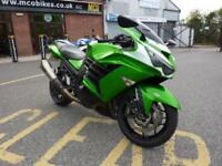Kawasaki ZZR1400 Performance Edition green 14/14reg 13245miles VGC FSH