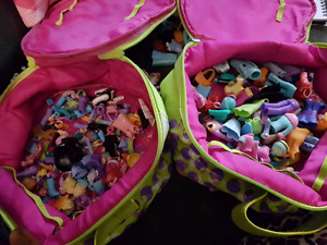 2 bags of poly pockets plus accessories