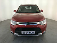 2014 64 MITSUBISHI OUTLANDER GX 4 DI-D DIESEL 1 OWNER SERVICE HISTORY FINANCE PX