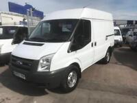 57 REG FORD TRANSIT T330S 100PS 2.4 SWB VAN NO VAT NEW MOT HIGHER PAYLOAD VAN !!