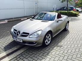 2006 56 Reg Mercedes-Benz SLK280 3.0 7G-Tronic + PEARL WHITE + RED LEATHER +